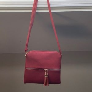 COPY - Red leather purse nwot